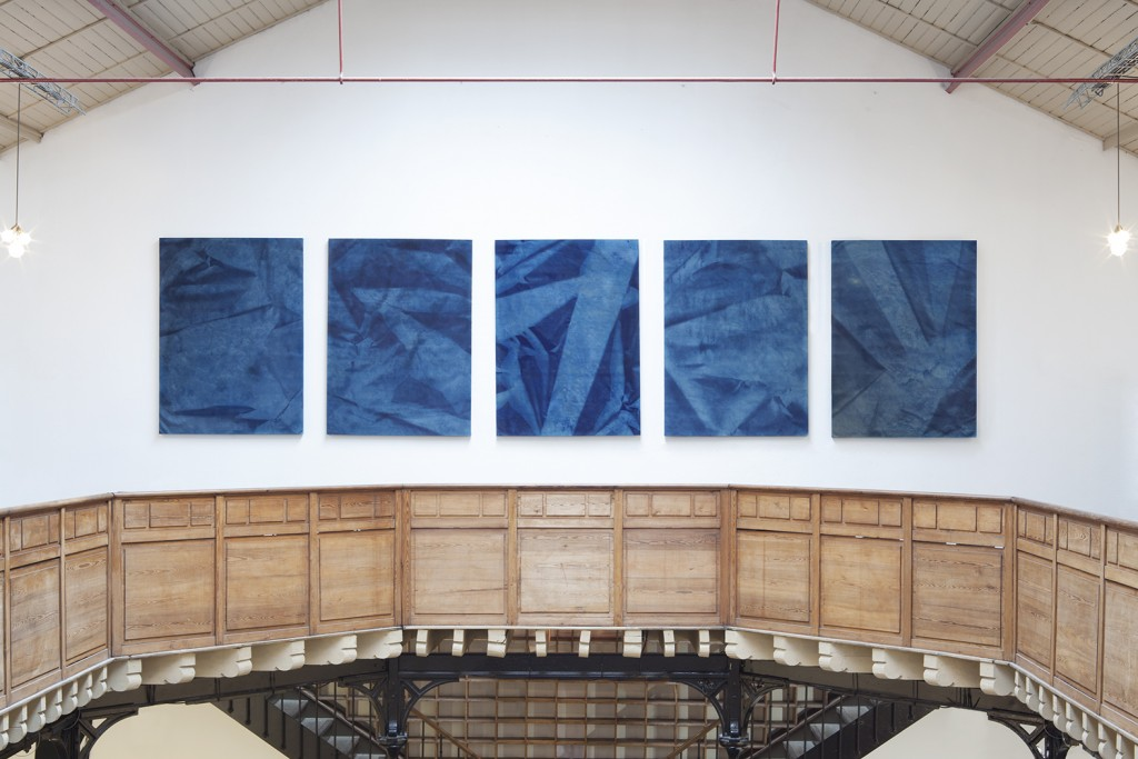 Cyanotypes d'Hubert Marot à la Confidentielle du YIA