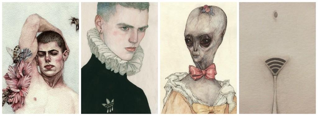 Aquarelles de Nicolas Tolmachev